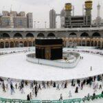 مسجد الحرام میں دنیا کا سب سے بڑا کولنگ اسٹیشن نصب کردیاگیا